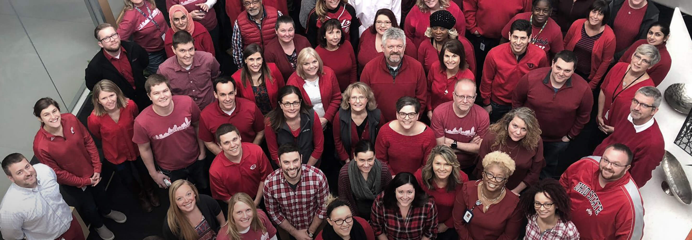 Wear Red Day in support of American Heart Association